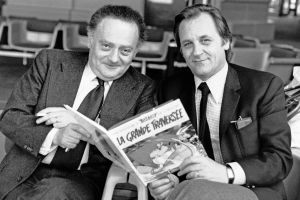 Rene Goscinny ja Albert Uderzo.