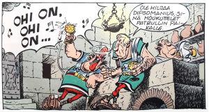 Asterix ja Caesarin lahja.