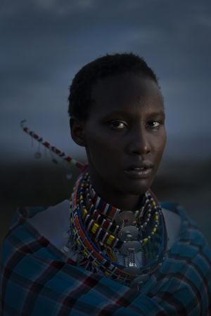 Massajkvinna fotograferad av Sofia Jern 2019.