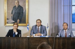 Pertti Salolainen, Ilkka Suominen ja Matti Jaatinen 1983