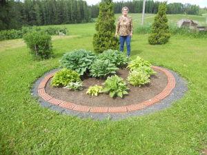 Kukkapenkki, Helvi Pajunen, Hämeenkyrö