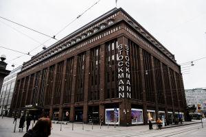 Stockmanns varuhus i Helsingfors.