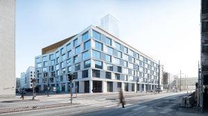 Handelsjätten K-gruppen har sitt huvudkontor i Fiskehamnen i Helsingfors.