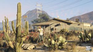 Kuva Grand Theft Auto 5 -pelistä.