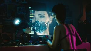 Kuva Cyberpunk 2077 -pelistä.