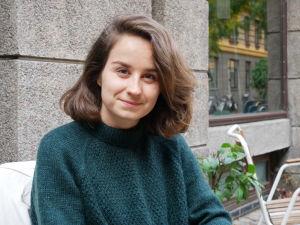 Porträtt på Emilie Maarbjerg Mørk.