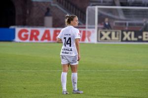 Julia Tunturi i Eskilstuna United 2020.