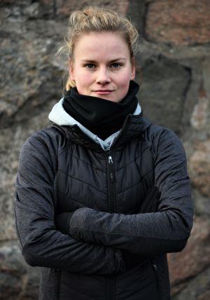 Julia Tunturi i Pargas, januari 2021