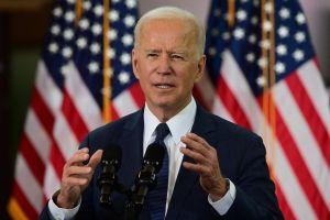 USA:s president Joe Biden talar