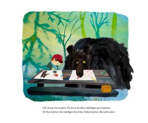 """Inlaga ur boken """"Om du möter en björn""""."""