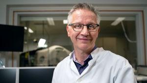 Professoni Juhani Knuuti Turun yliopistosta.