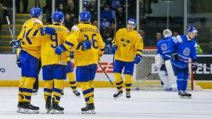 Sverige vinner, men sällan finaler.