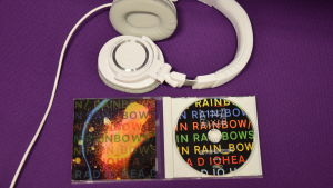 Radioheads skiva In Rainbows.
