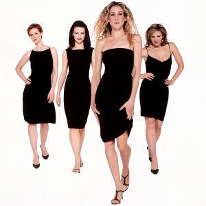 Huvudkaraktärerna i tv-serien Sex and the city: Miranda, Charlotte, Carrie, Samantha.