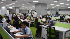 En karriär inom resebranschen attraherar främst unga kineser. Största delen av de 20 000 människorna som arbetar för Tempustour har själva rest utomlands.