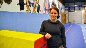 Sofia Broman, en av delägarna till Motionscentret Kraftverk.