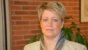 Grundtrygghetsdirektör Jeanette Pajunen i Raseborg.
