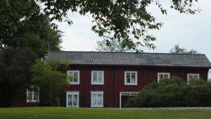 Gammalt trähus i Kristinestad