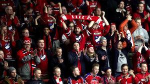 HIFK:s fans.