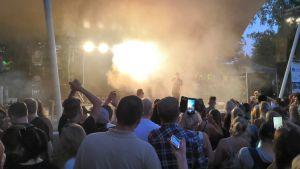 Konsert i Skolparken på Jakobs dagar.