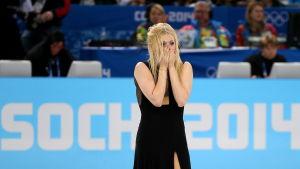 Jekaterina Bobrova är en av idrottarna som testat positivt för meldonium.