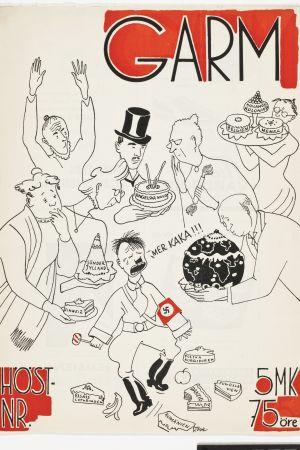 Tove Janssons pärmbild för tidningen Garm.