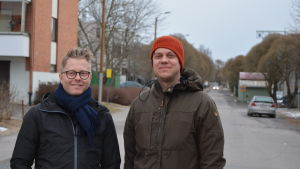 Martin Arfalk och Oliver Schulte-Tigges