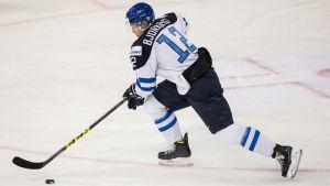 Kasper Björkqvist kan få en mer offensiv roll än i senaste VM.
