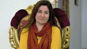 Yazidiernas första parlamentsledamot Vian Dakhil