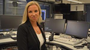 Direktör Paula Erkkilä vid Österbottens handelskammare