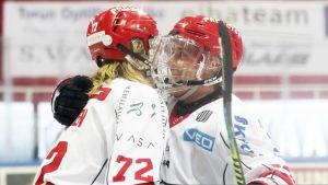 Mika Partanen och Turo Asplund i Sport.