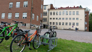 Skolgård i Lovisa.