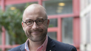 Forskaren Johan Norberg vid Totalförsvarets forskningsinstitut FOI i Sverige.