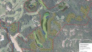 Detaljplan för Nevas gård i Sibbo