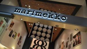 marimekko-affär på Kastrup.