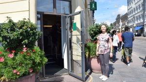 Sanna Salonen från Visit Helsinki hoppas på att fler stora evenemang kommer att ordnas i Helsingfors.