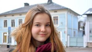 Julia Halttunen från Lyceiparkens skola