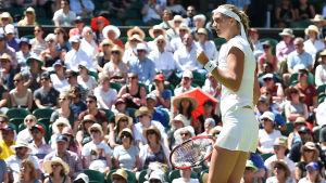 Petra Kvitova, Wimbledon 2015.