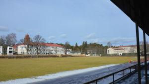 Centrumplan i Ekenäs ska få konstgräs och belysning.