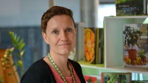 Bibliotekschef Heidi Enberg
