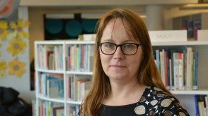 Pargas bibliotekschef Karolina Zilliacus.