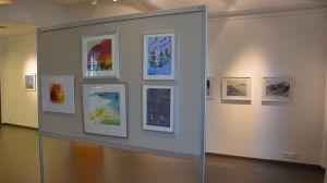 Tavelutställning i Galleri Perspektivet, Ekenäs, av Akvarellkonstföreningen i Finland
