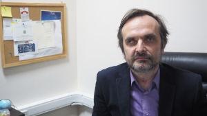 Igor Kochetkov, verksamhetsledare för Rysslands HBTQ-nätverk.