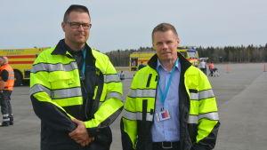Harri Kolehmainen och Petri Lampi.