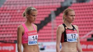 Camilla Richardsson och Heidi Eriksson, 2015.