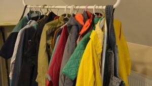 Pargasbor har donerat kläder till kvotflyktingarna.