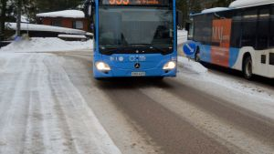 Buss i Grankulla.