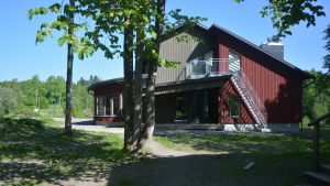 Mikaelskolans förskola är i högstadiebyggnaden hösten 2016 och våren 2017 innan de flyttar till egen byggnad.