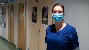 Anette Hansen på Näse hälsostation.