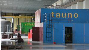 Turbinhallen i Ingå kolkraftverk
